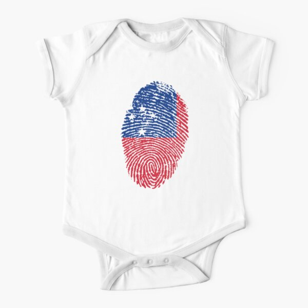 Samoan Short Sleeve Baby One-Piece