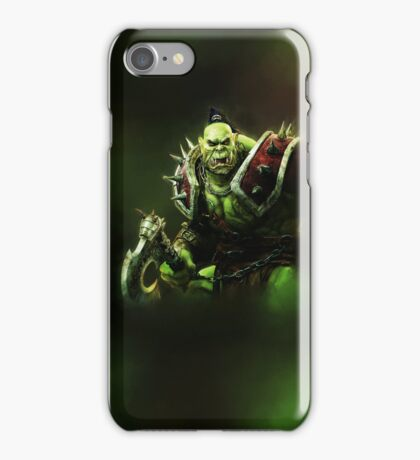 Epic Green Orc iPhone Case/Skin