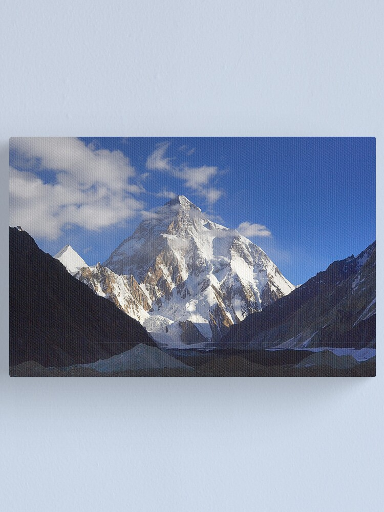 CANVAS K2 Expedition Art print POSTER