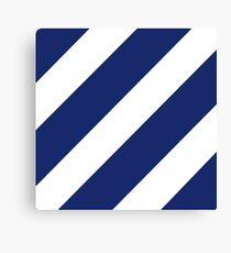Third Infantry Division (3ID) Insignia Canvas Print