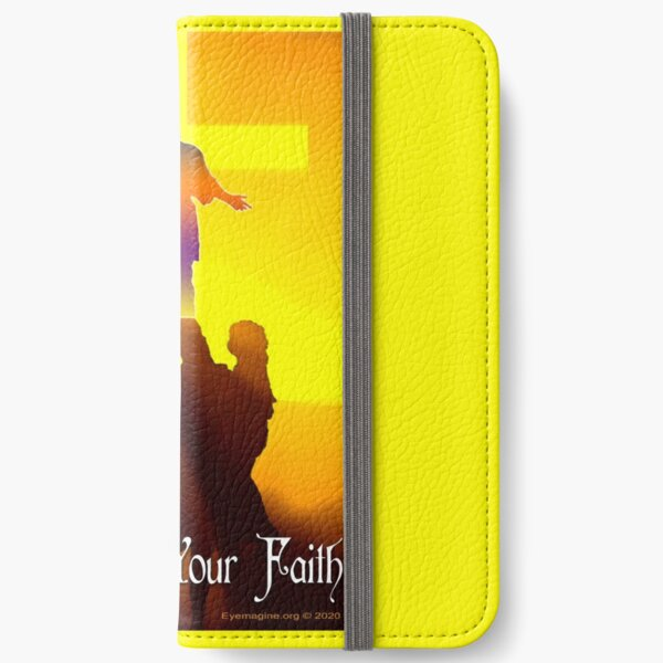 Stand By Your Faith iPhone Wallet
