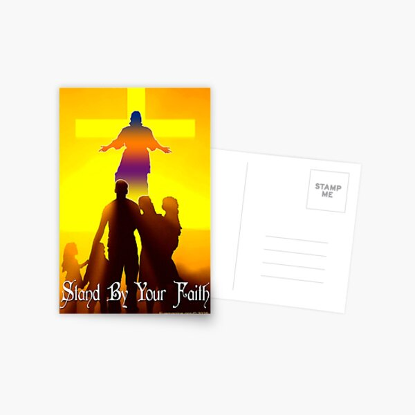 Stand By Your Faith Postcard