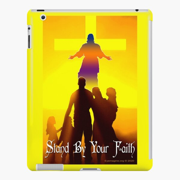 Stand By Your Faith iPad Snap Case