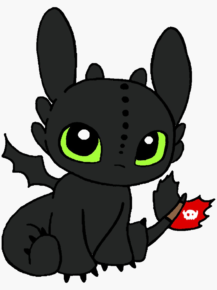 Toothless Dragon by NixiMJ