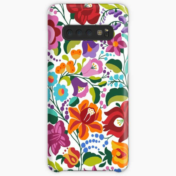 Hungarian ethnic kalocsai embroidery pattern Samsung Galaxy Snap Case