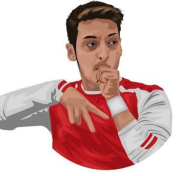 Mesut Ozil de siddick49