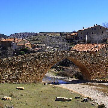 Puente de la Pobleta de San Miguel, La Iglesuela del Cid, Spain by AndyJones