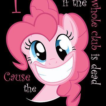 Pinkie Pie Party in my Head by Kuzcorish