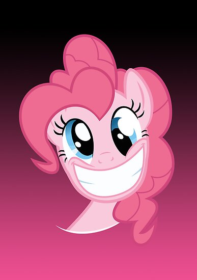 Pinkie Pie Party in my Head no text by Kuzcorish