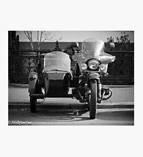 sidecar Photographic Print