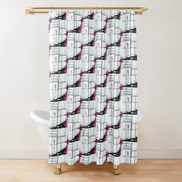 Fractions of pink! Shower Curtain