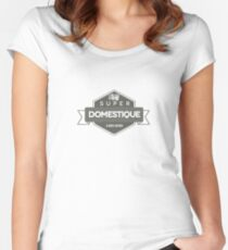 Super Domestique Women's Fitted Scoop T-Shirt