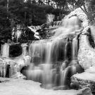 Ganoga Falls in Winter by Murph2010