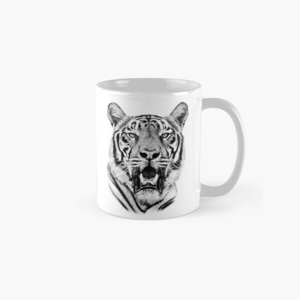 Tiger Portrait of Majestic Male Bengal Tiger Classic Mug