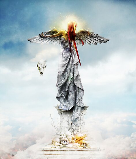 Angel of Mercy by jena dellagrottaglia