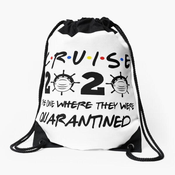 Cruise 2020 Quarantined Drawstring Bag