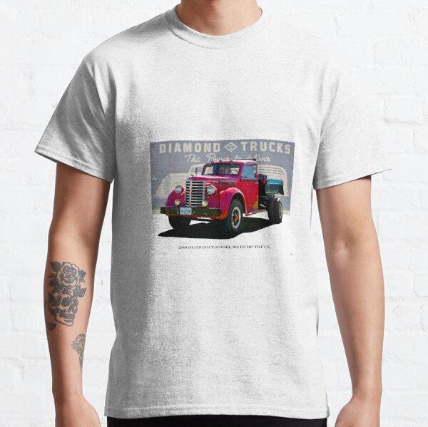 Camion à benne basculante Diamond T modèle 306 1948 T-shirt classique