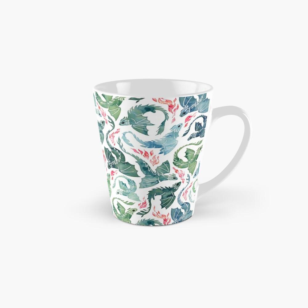 Dragon fire blue & green Mug