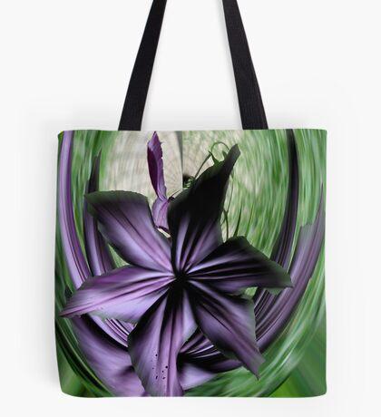 Purple Swoon Tote Bag