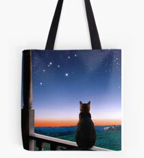 Virgo at Dawn's Light Tote Bag