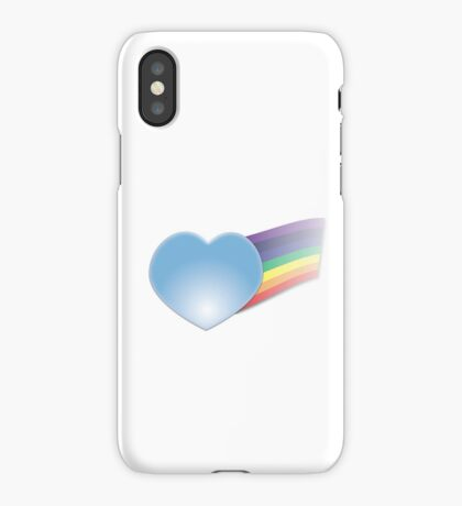Glass Heart with Rainbow iPhone Case/Skin