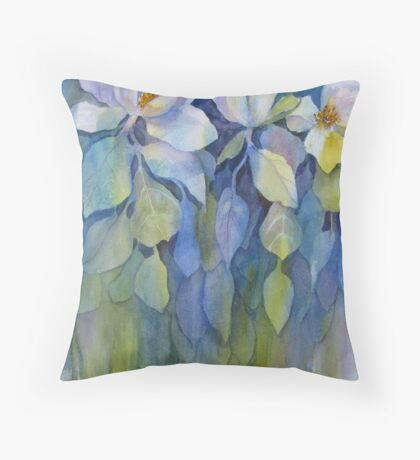 Longing for Magnolia Throw Pillow