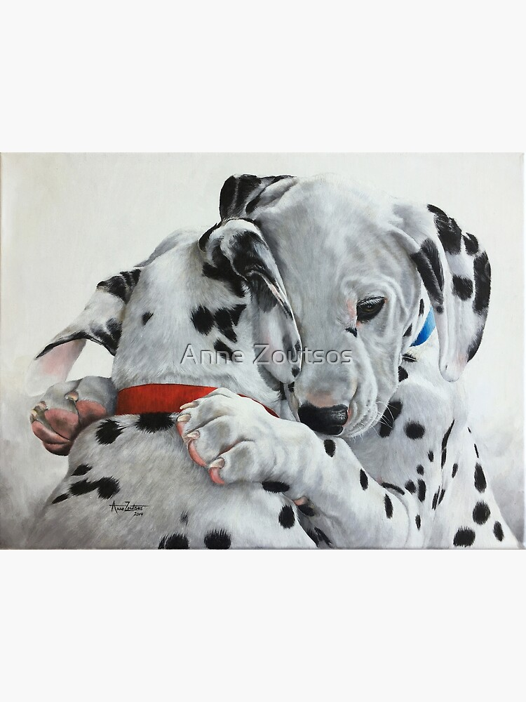 Dalmatian pups - Forever Friends. by AnneZ