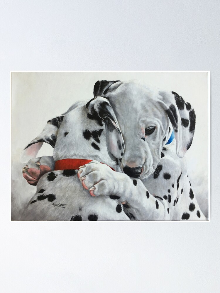 Alternate view of Dalmatian pups - Forever Friends. Poster