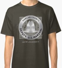 Justified US Marshal Badge Classic T-Shirt