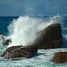 Waves crashing over Laguna Rocks by johnboy53