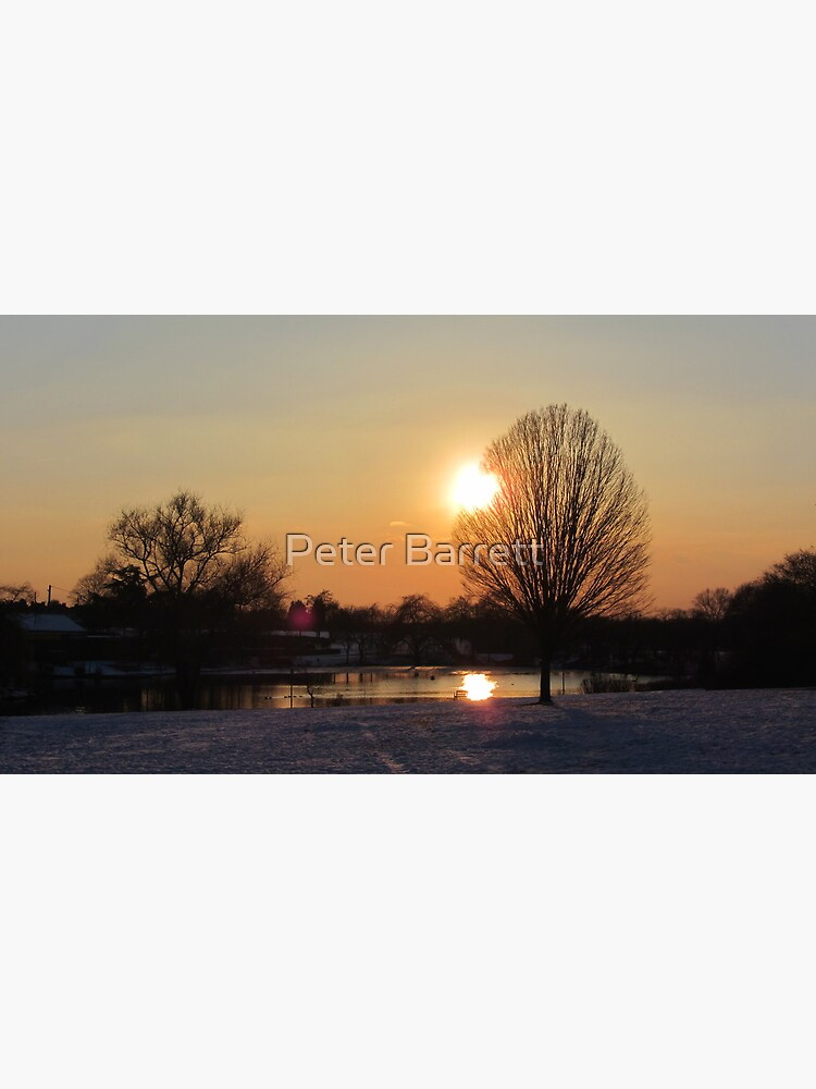 Snow Sunset 2 by hartrockets