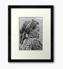 Dao Woman Framed Print