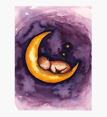 Sleep, Baby, Sleep Photographic Print