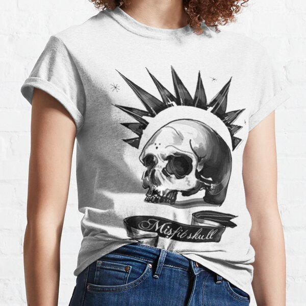 Crâne de Mistic T-shirt classique
