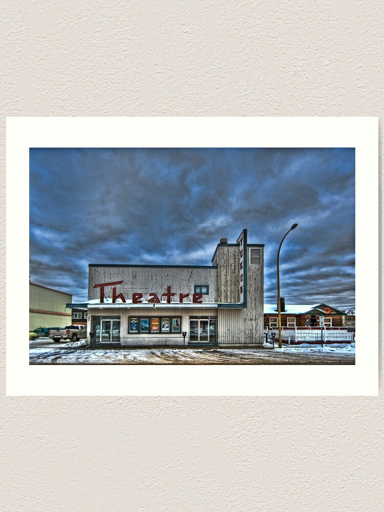 Alternate view of Theatre of the North Art Print