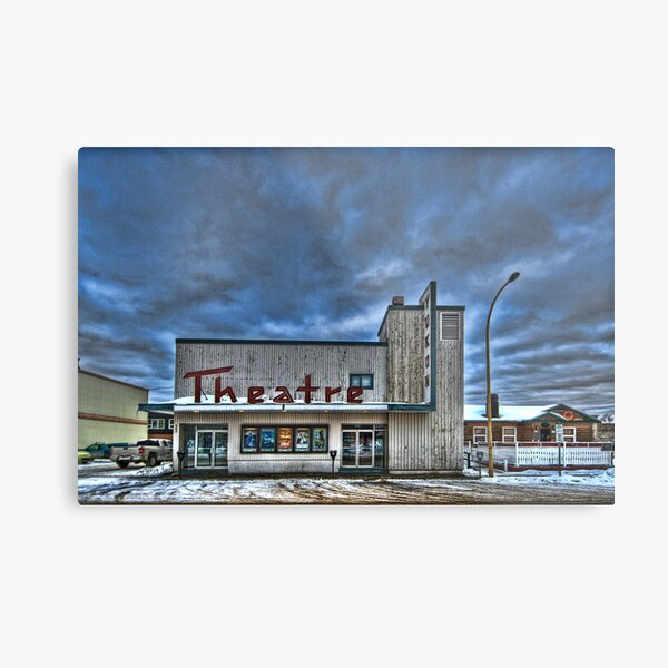 Theatre of the North Metal Print