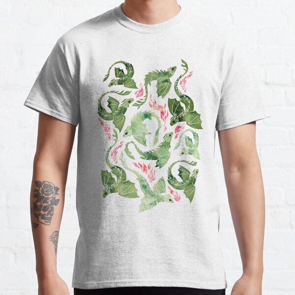 Dragon fire green Classic T-Shirt