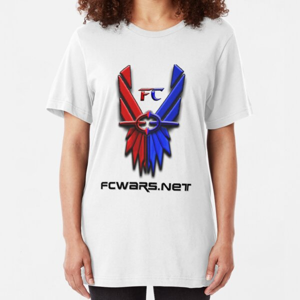 Classic FC Logo w/ Site URL Slim Fit T-Shirt