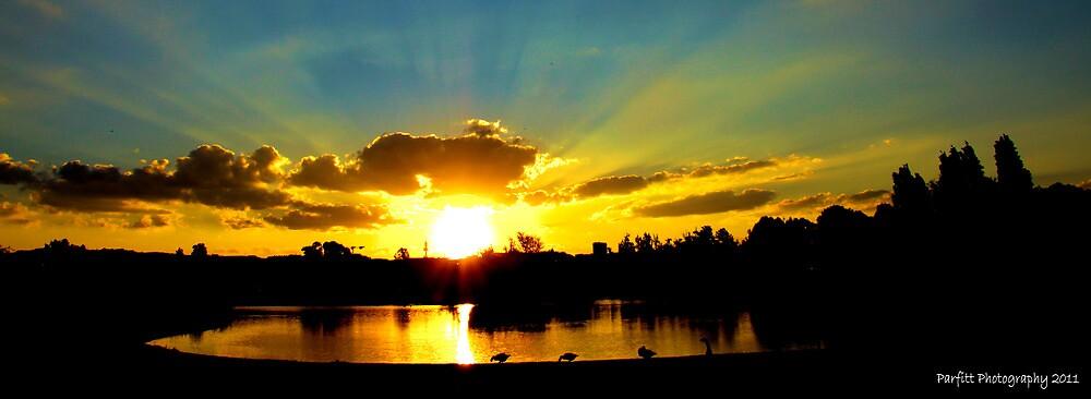 Sunset over tuks by Greg Parfitt