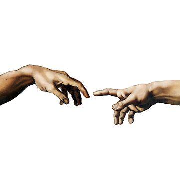 Creation Of Adam Hands by eclecticmess