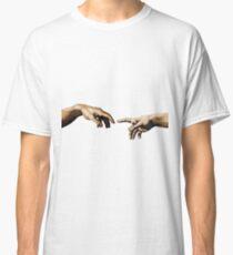 Creation Of Adam Hands Classic T-Shirt