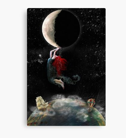 Clinging To Hope Canvas Print