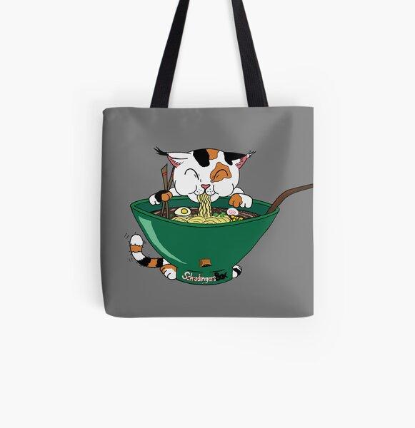 Ramenyan version 3 All Over Print Tote Bag