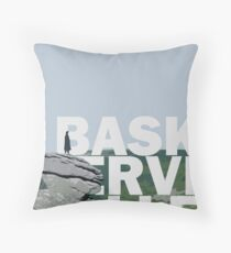The Hound of the Baskerville Throw Pillow