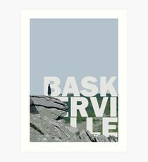 The Hound of the Baskerville Art Print