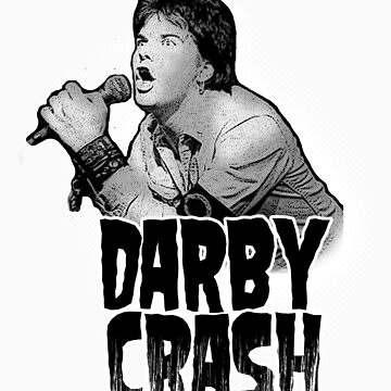 Darby Crash W by thebeatter
