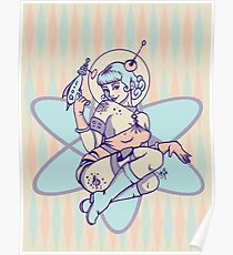 Space Babe Poster