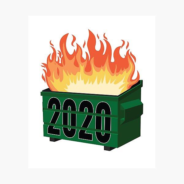2020 Dumpster Fire Gifts Merchandise Redbubble