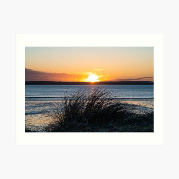 Sunset, Dunnet Dunes Caithness Art Print