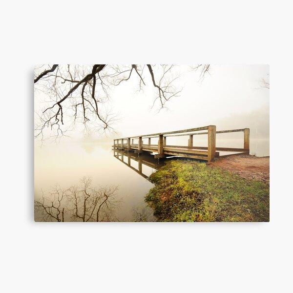 Daylesford mist Metal Print